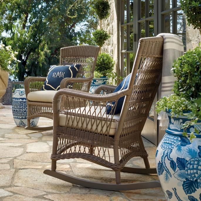 Outdoor Rattan Bar Stools