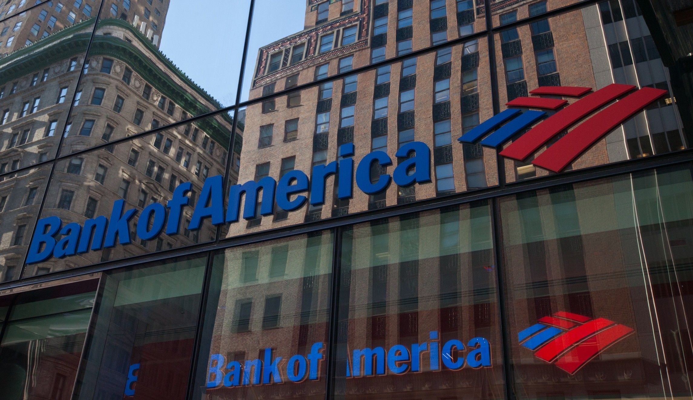 Bank of America (NYSEBAC) joined most of its WallStreet