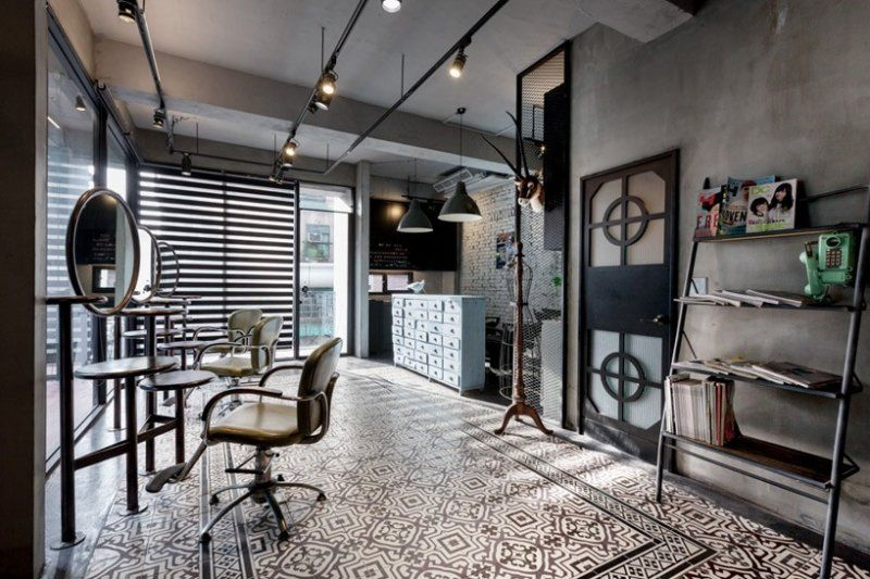Best barber shops interiors