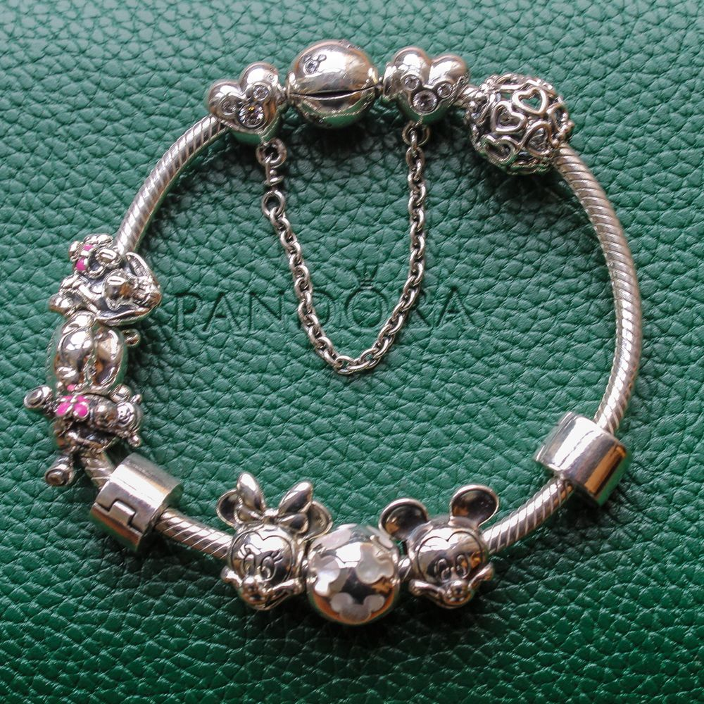 This is how I wear my  classic  Disney bracelet from Pandora. It s the 84e48efe35b