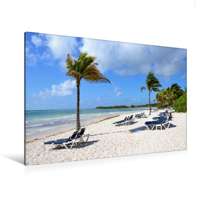 Palmen Strand Dreambeach Karibik Kalender Premium Textil