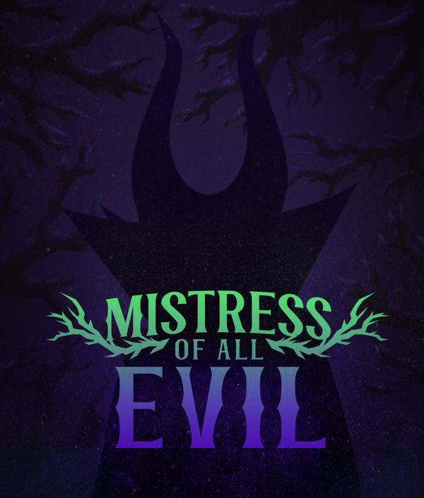 Mistress Of All Evil By Robbie Thiessen Via Behance