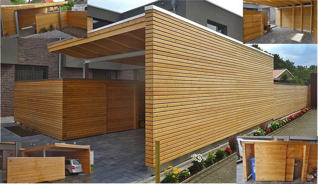 Bildergebnis für carport lärche rhombus Design