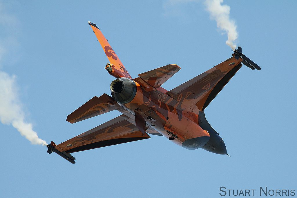 Royal Netherlands Air Force F-16AM Fighting Falcon (3)