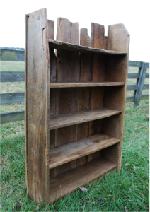 Barnwood Bookcase Love The Old Natural Look