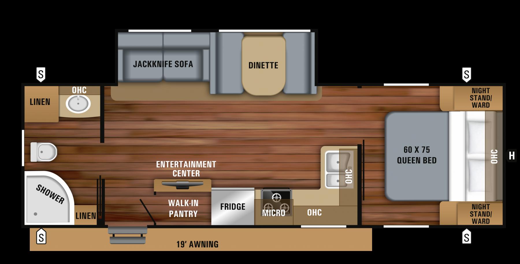 Jayco Jay Feather Floor Plans