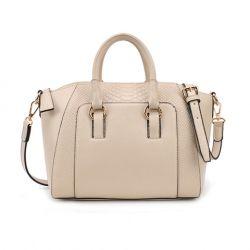 Casual Women's Handbag With Animal Print Design