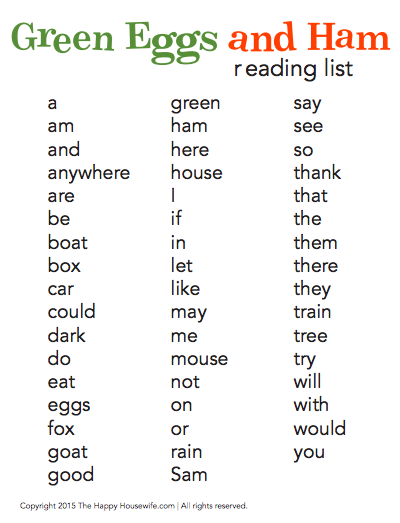 31 Days Of Read Alouds Green Eggs And Ham Activities