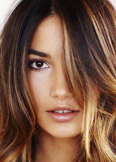 Best Hair Color For Brown Eyes And Fair Skin Dark Medium Olive Cool Hair Color Hair Color Caramel Hair Highlights