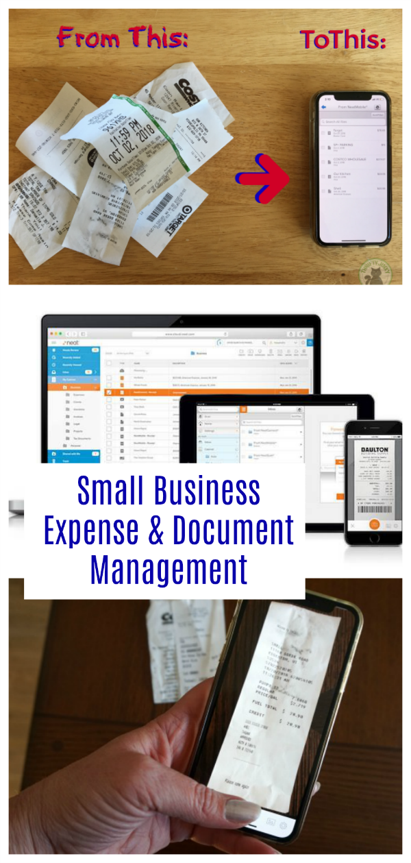 Simplify Your Small Business Expense And Document Storage And Organization With Neat Sma Small Business Expenses Business Expense Small Business Organization