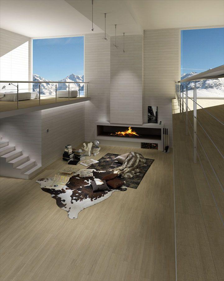 Orsa cr beige 44 3x89 3cm pavimento porcel nico for Azulejo porcelanico