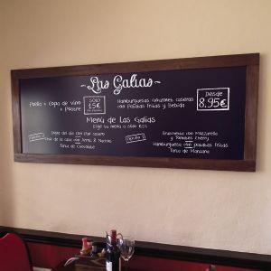 Pizarra de pared para cafeter a bar o restaurante by menu shop pizarras hosteler a en 2019 - Pizarras de bar ...