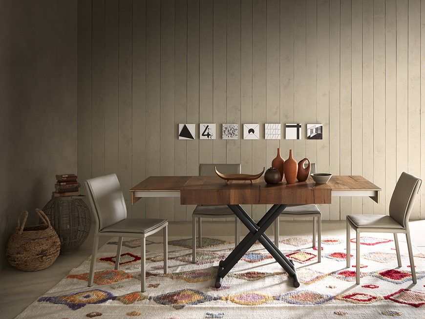 Tavolino Trasformabile In Tavolo Da Pranzo.Mod Double Altacom Tavolino Trasformabile In Tavolo Da Pranzo