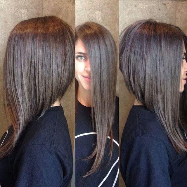 Long Asymmetrical Haircut Google Search Cabelinho Cortes