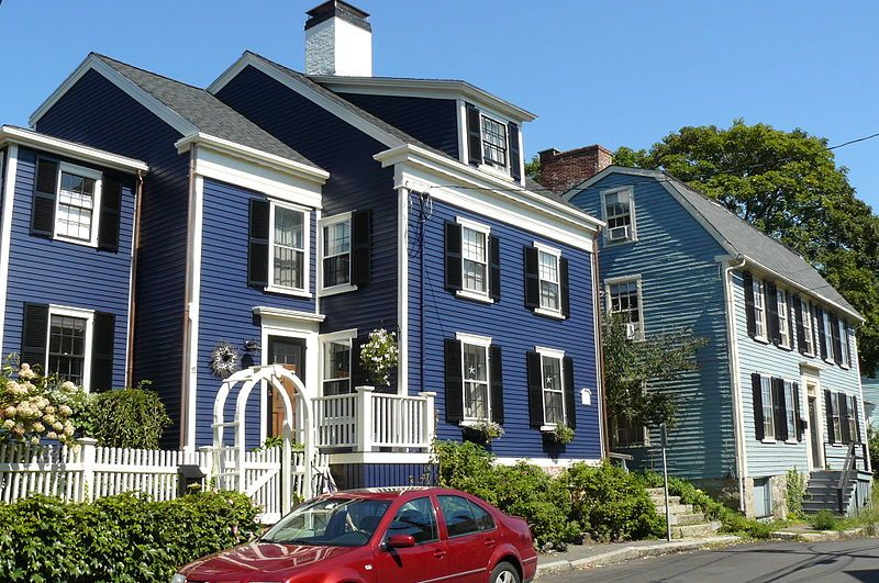 House in Marblehead, Mass