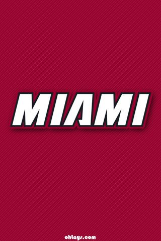Miami Heat Iphone Wallpaper Miami Heat Miami Basketball