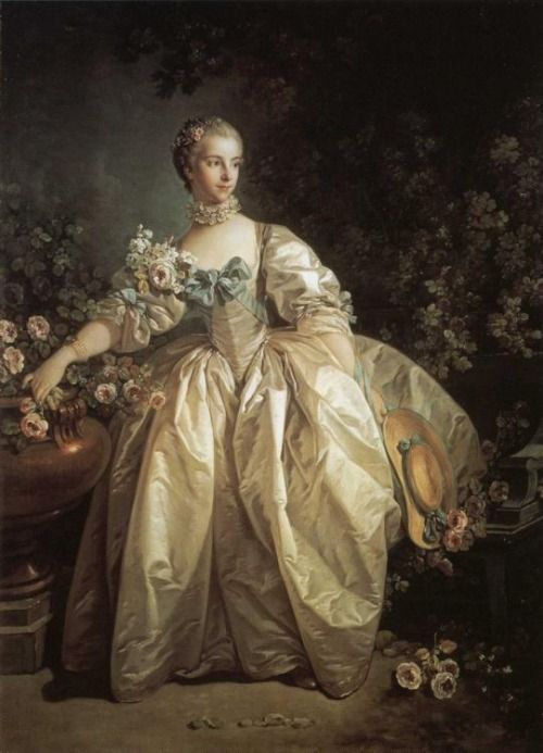 f168aade3b6b Madame Bergeret' by François Boucher, 1746. | French Rococo in 2019 ...