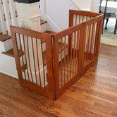 Cardinal Gates 4 Panel Tall Pet Gate Freestanding Pet Gate Baby Gate For Stairs Dog Gate
