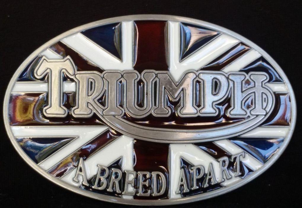 b0c275b00075 NEWS du jour ! boucle de ceinture triumph drapeau anglais homme femme prix    19,