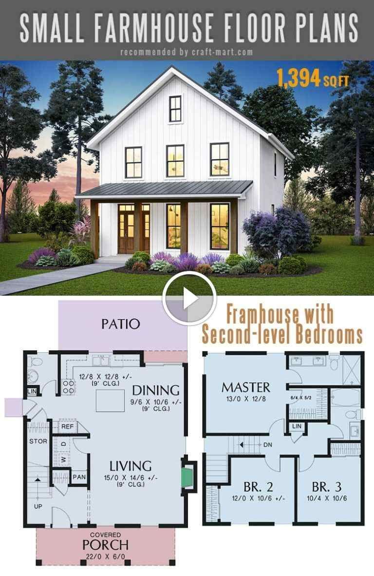 Small Modern Farmhouse Plans To Build Your Dream House 21 Small Farmhouse Plans Simple Farmhouse Plans Farmhouse Floor Plans