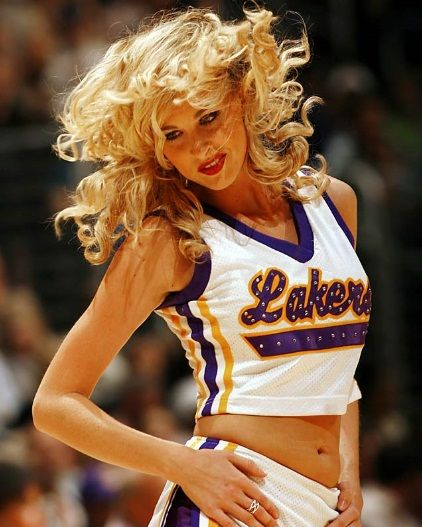 Image detail for -Nba Arena - Cheerleaders - Los Angeles Lakers Cheerleaders