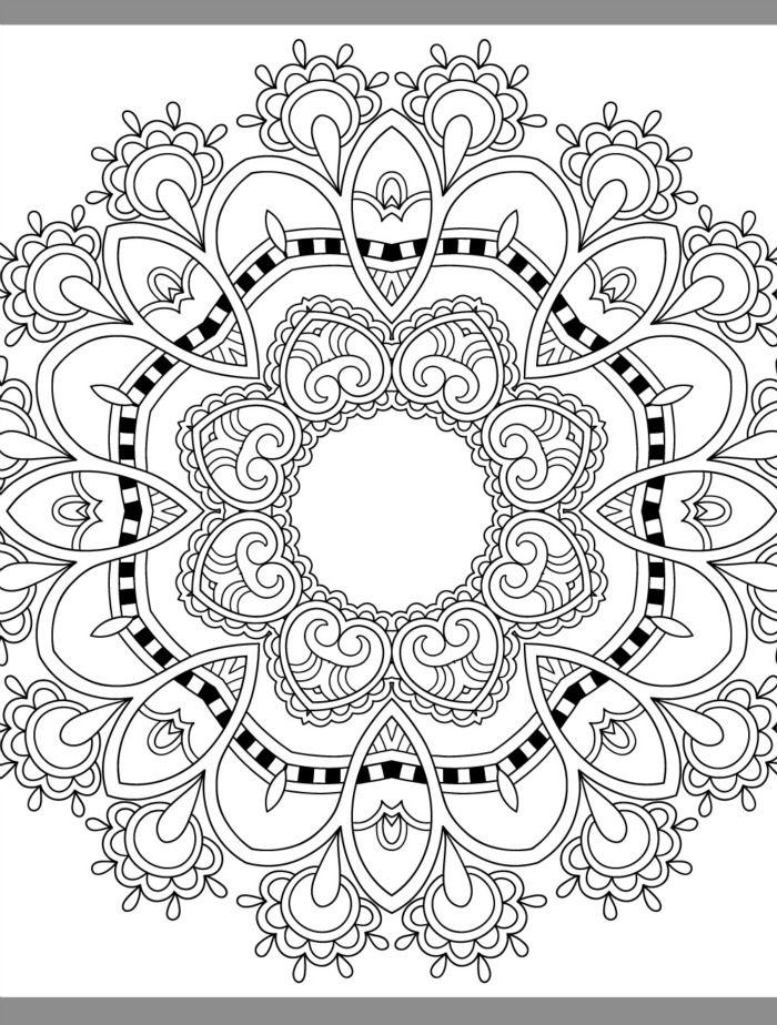 24 More Free Printable Adult Coloring Pages | Mandalas, Atrapasueños ...