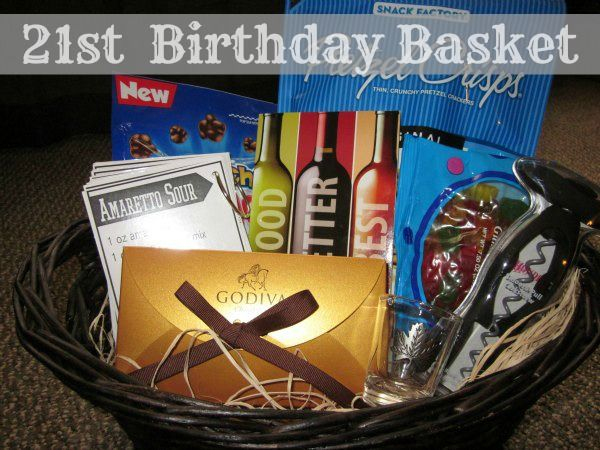 best 25  21st birthday basket ideas on pinterest