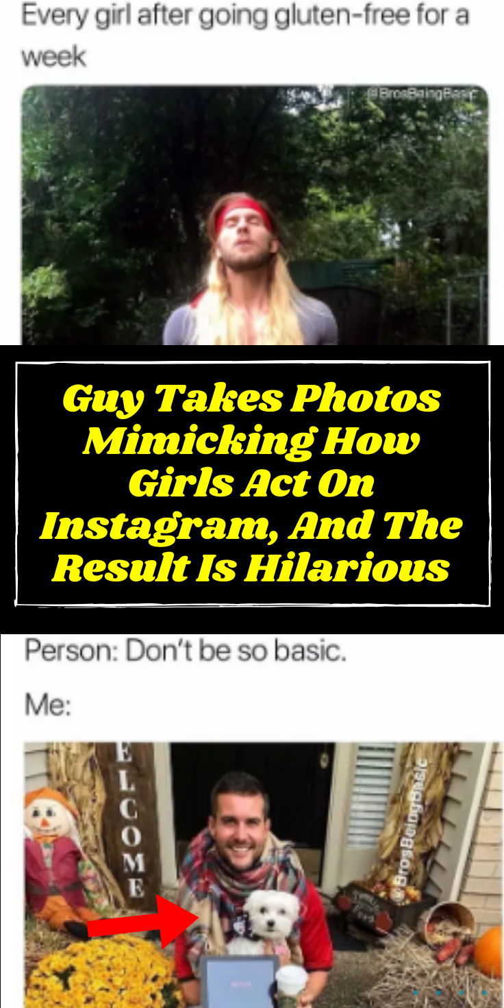 Guy Takes Photos Mimicking How Girls Act On Instagram And The Result Is Hilarious In 2020 Diy Hacks Diy And Crafts How To Take Photos