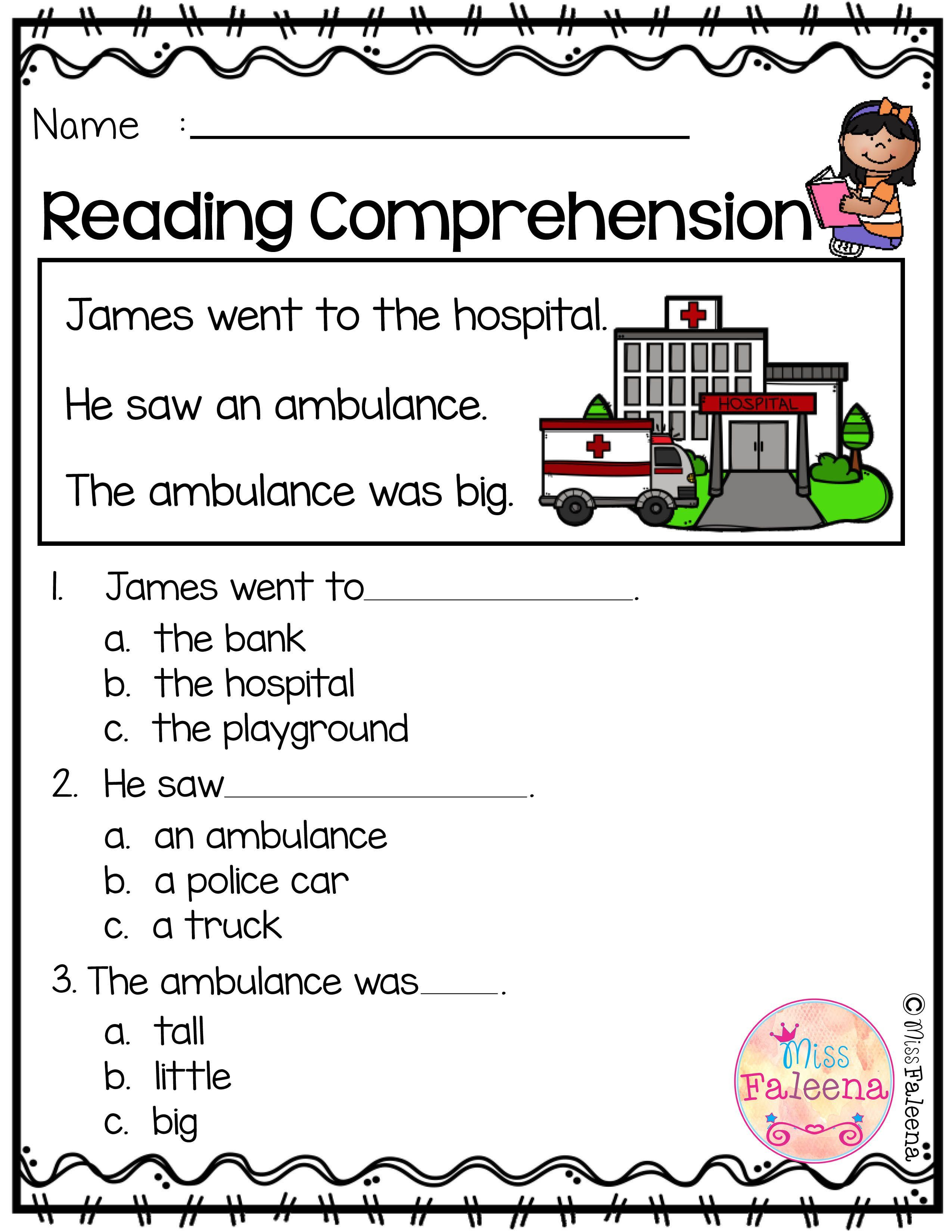 Free Reading Comprehension Free Reading Comprehension Is