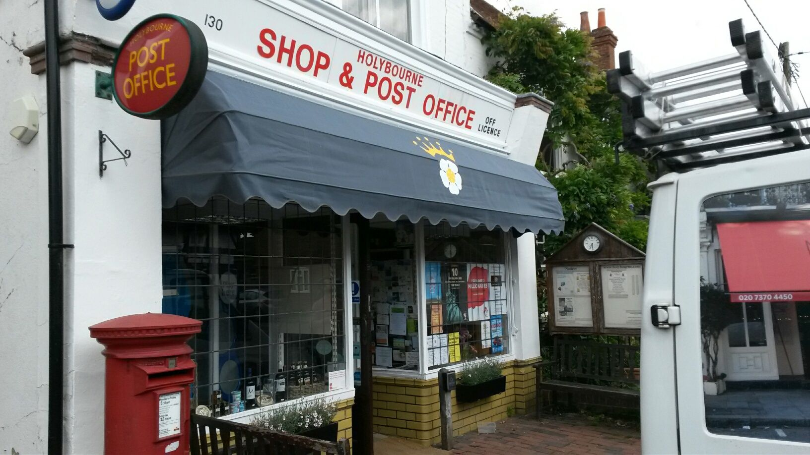 A new Dutch Canopy for Holybourne Post Office this rev&ed shop has become the heart & A new Dutch Canopy for Holybourne Post Office this revamped shop ...