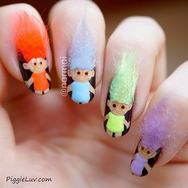 Furry Nails Art Nail Designs Pinterest Furry Nails Nail
