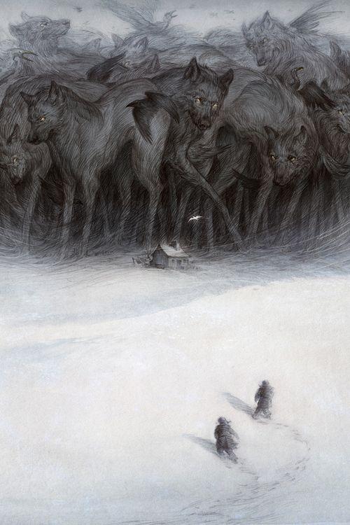 Imagen de wolf and art