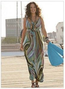 f0468c8117 Colourful Jersey Dress from Curvissa. It's simply gorgeous and perfect for  summer - plus you