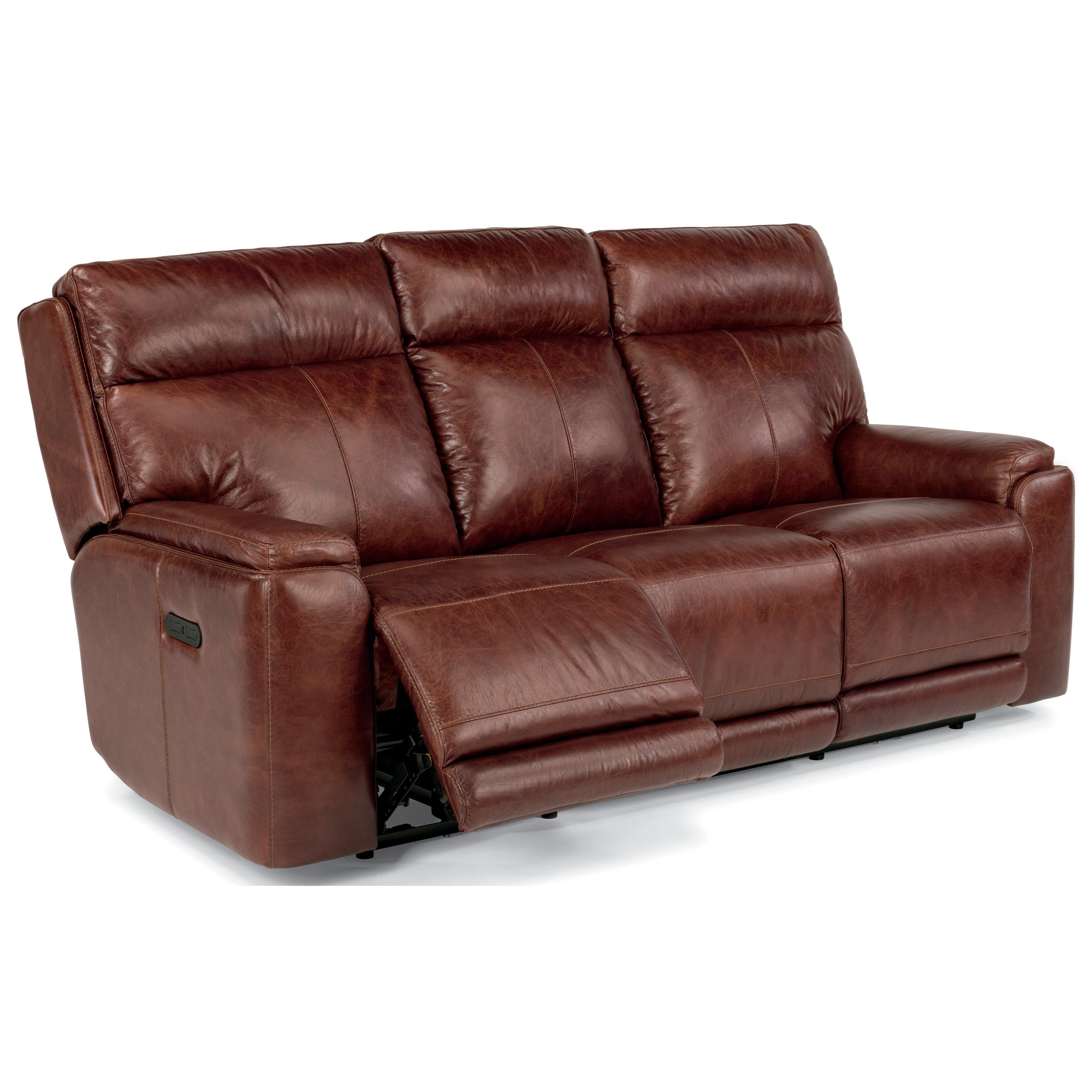Latitudes Sienna Power Reclining Sofa With Adjustable Headrests And Usb Ports By Flexsteel At Wayside Furniture Power Reclining Sofa Reclining Sofa Living Room Leather