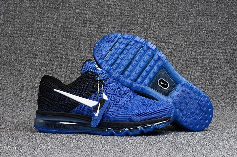 Men's Nike Air Max 2017 KPU Shoes Shoes Royal BlueBlack