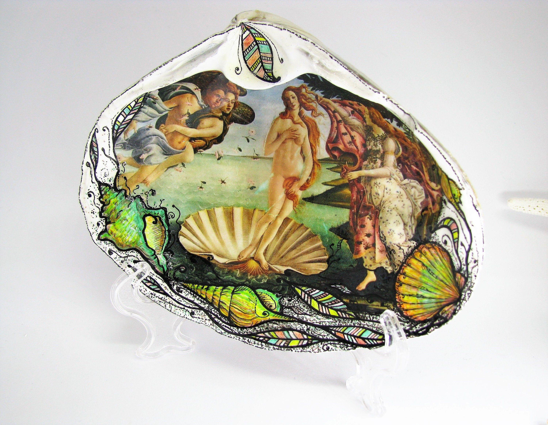 Mermaid print jewelry dish