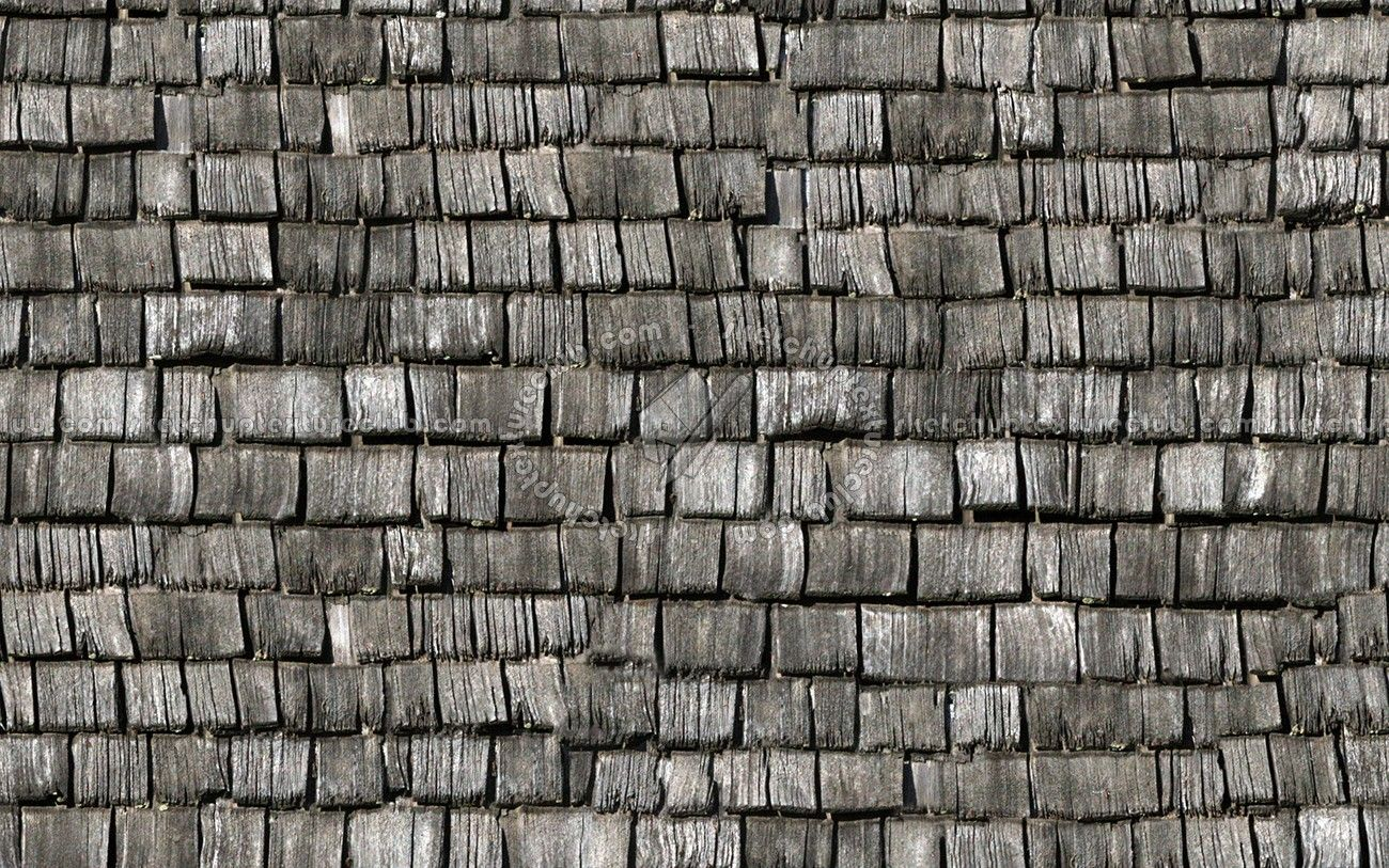 Wood Shingles Roof Textures Seamless Wood Shingles