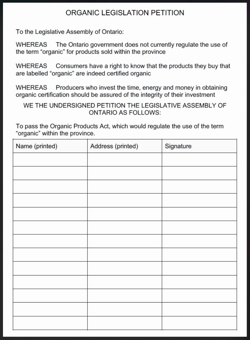 30 Create A Petition form in 2020 Form example, Petition