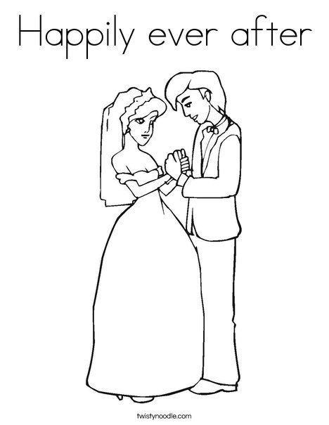 bride and groom coloring pages # 10