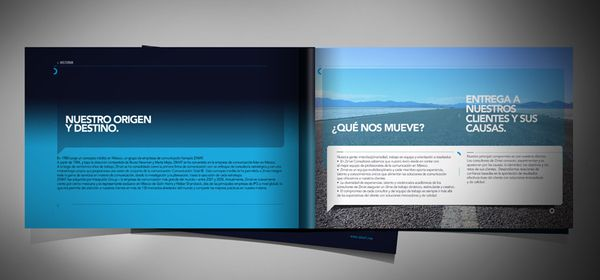 Promotional Brochure  Publication Design