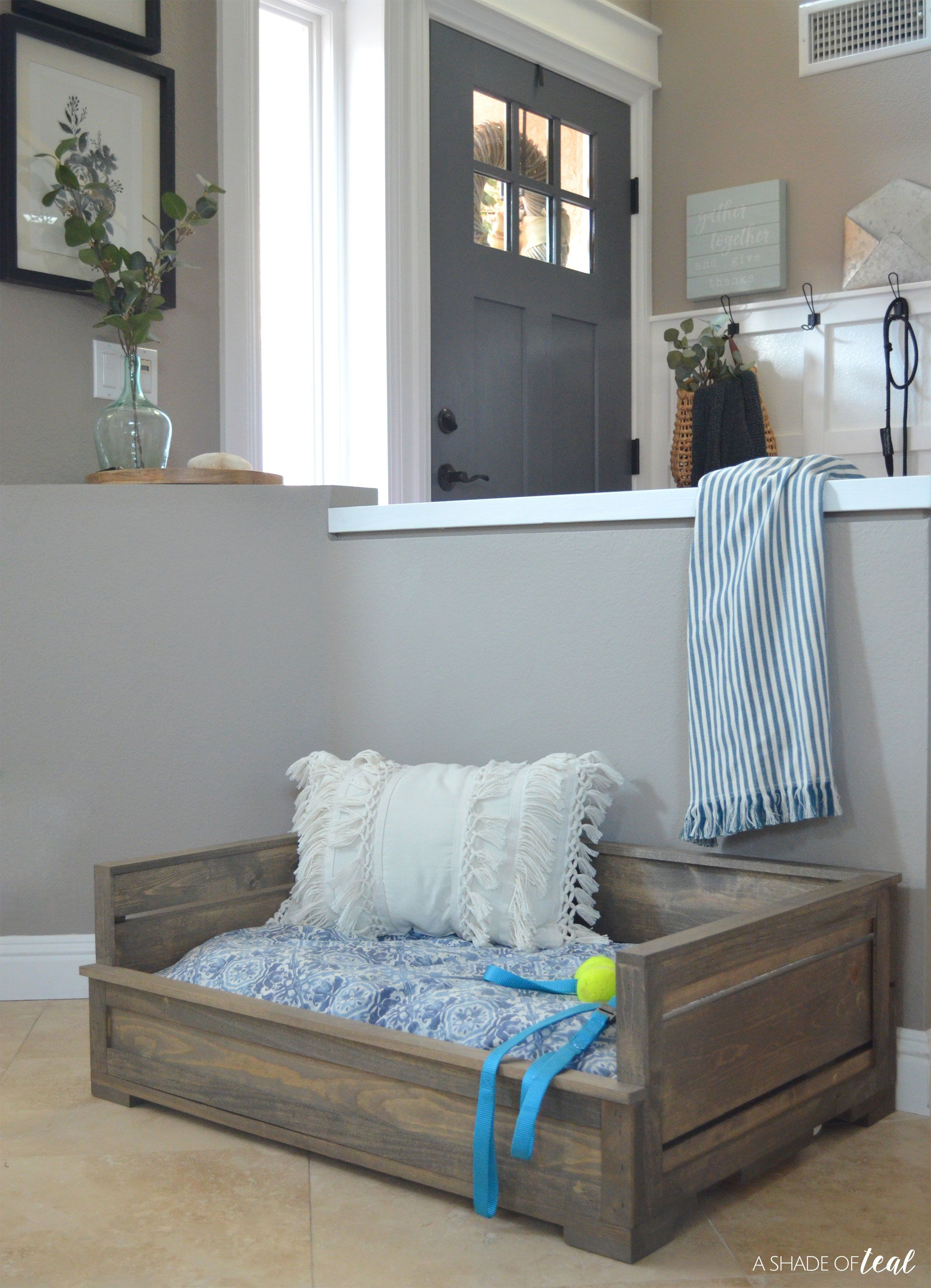 How to Build a Rustic Wood Dog Bed & How to Build a Rustic Wood Dog Bed | ! DIY- HOUSE BEAUTIFUL ...