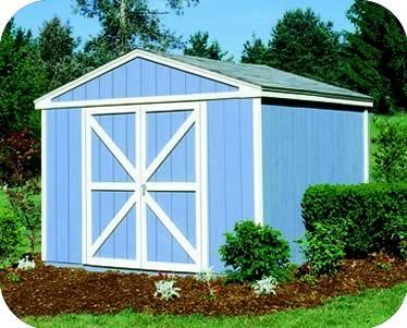 Handy Home Somerset 10x8 Wood Storage Shed Kit 18501 4 Wood Shed Kits Diy Shed Plans Wood Storage Sheds