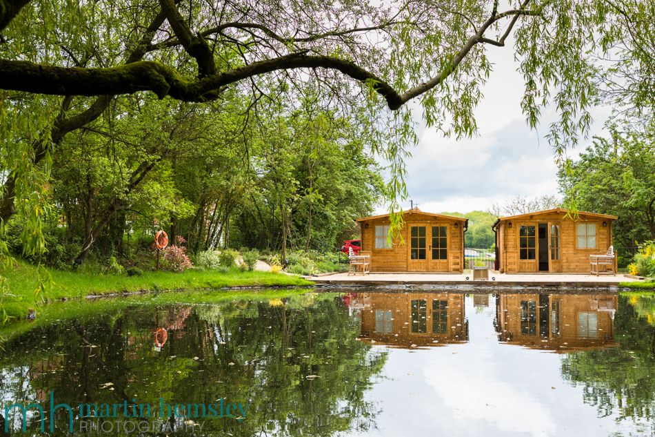 The Quiet Pond Area And Outbuilding For Bridal Preparations Wethele Manor Wedding Venue