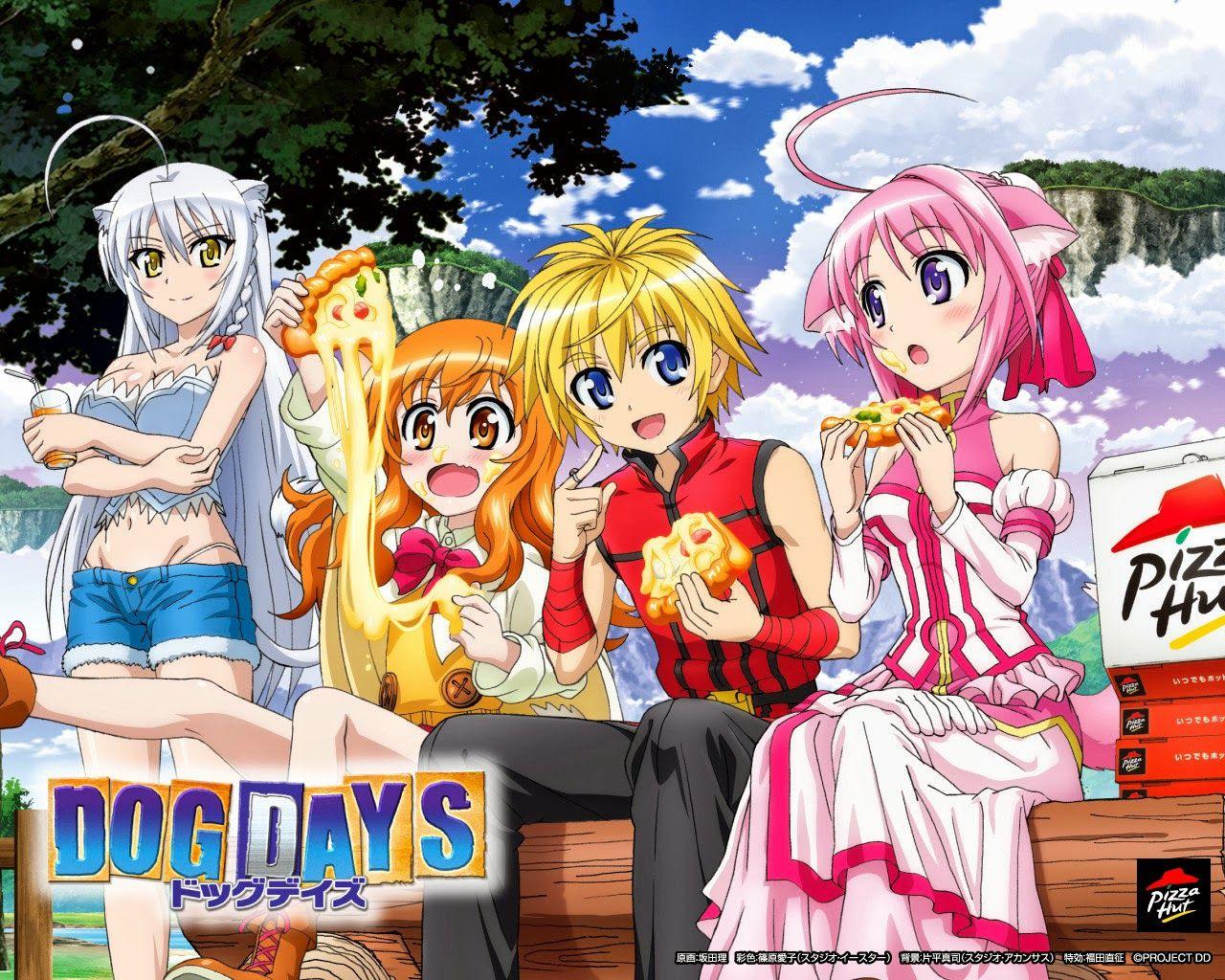 Dog days 1313 mega identi dog days anime dog