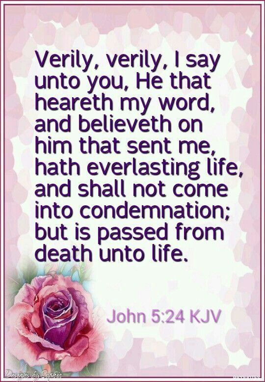 Bible Scriptures · Image Result For Kjv We Will Pass From Death Unto Life