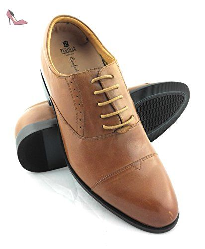 Chaussures Homme Ville Cuir Chaussures Cuir Veritable Chaussures Cuir Homme 7 cm Chaussures Grandissantes Zerimar Chaussures Rehaussantes Homme