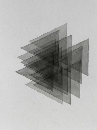 Davide Balula, 13 overlapping triangles (lucky ones) (2009)