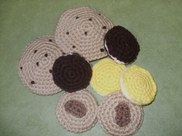 Amigurumi Food: Cookies ~ Free Pattern