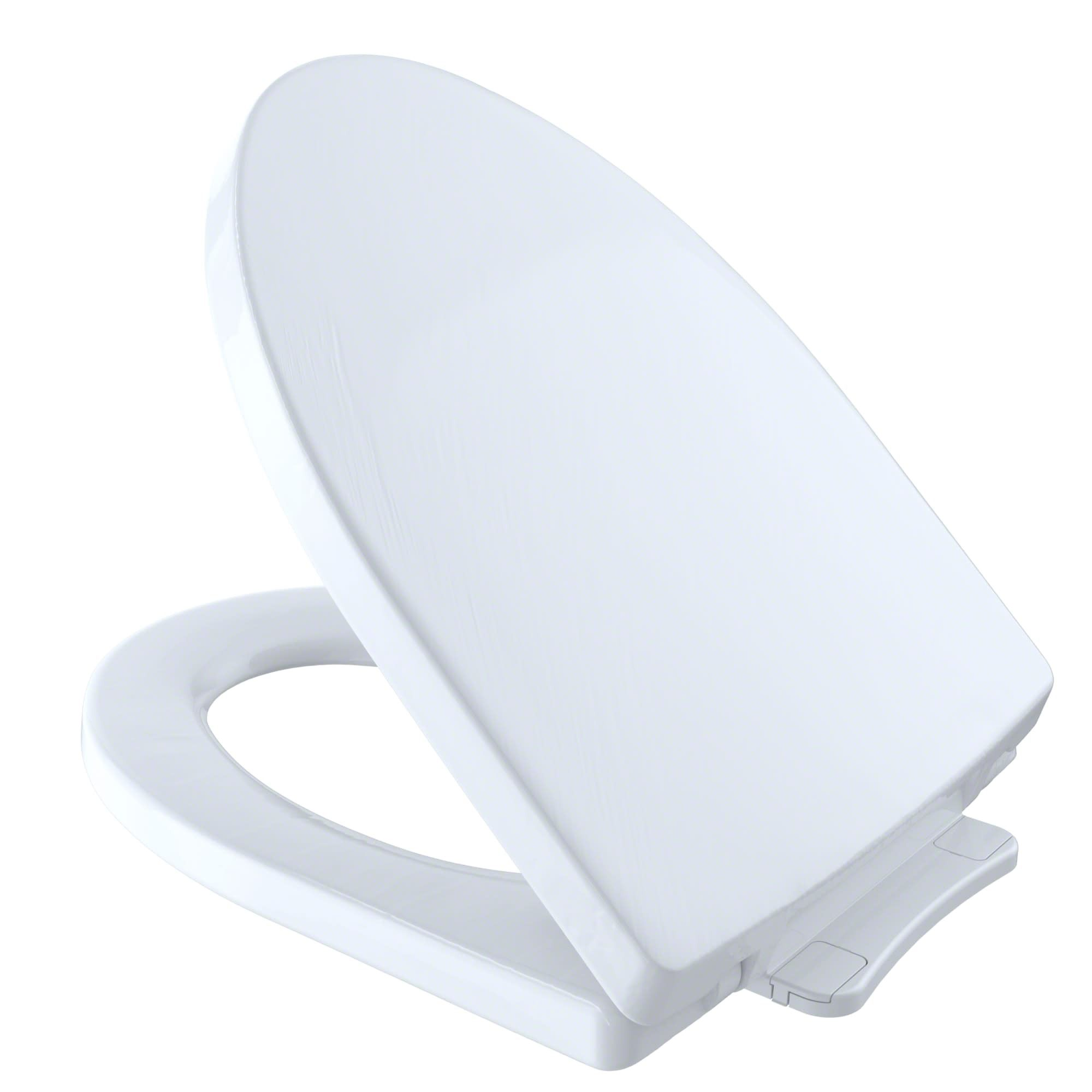 Toto Ss214 Soiree Elongated Closed Front Toilet Seat And Lid With