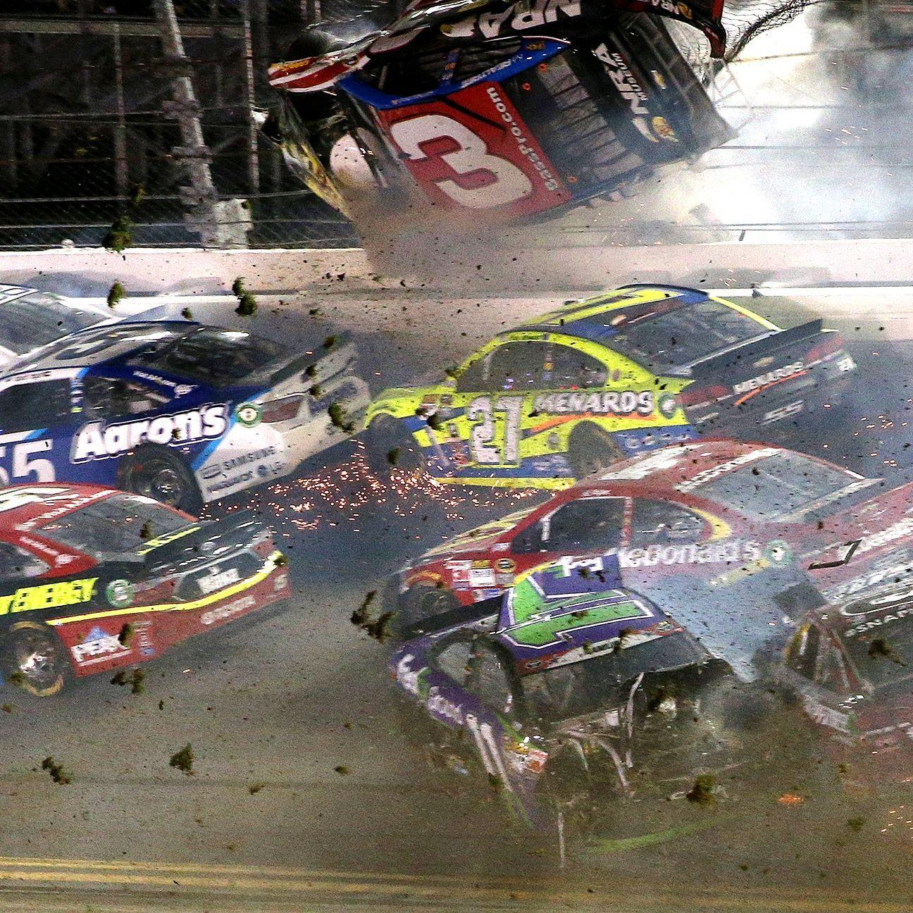 """After surviving a scary crash, Austin Dillon said, """"It's"""